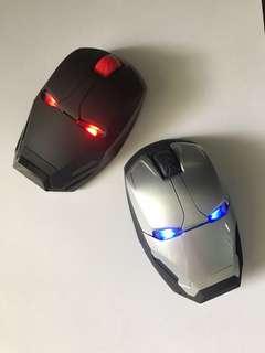 Ironman Wireless Mouse Marvel Black Grey USB