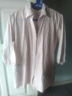 (SALE) Dress Shirt Kotak Kotak