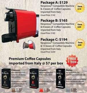 Compatible Nespresso Machine