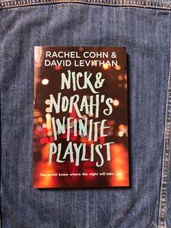 nick and norah's infinite playlist by rachel cohn & david levithan