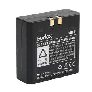 Godox VB18 powerful convenient Li-ion Battery for Godox VING V850II V860C II V860N II Flash