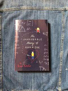 the improbable theory of ana & zak by brian katcher