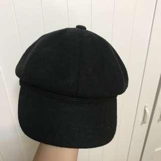 🚚 報童帽(黑色)
