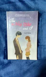 Wattpad book (the kpop star and I)