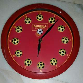 Vintage Dunhill Wall Clock 90s