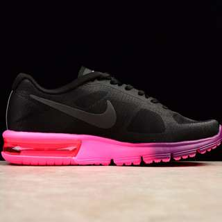 NIKE AIR MAX SEQUENT 2 -  Black Pink