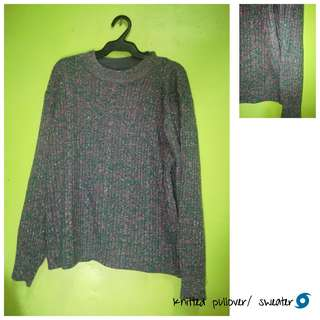 Shimmery Knitted Sweater