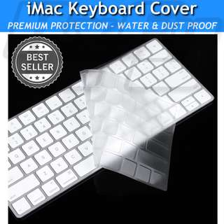 iMac Magic Keyboard Skin Protector Cover Ultra Thin Clear MLA22LL/A (A1644) Apple 2015 US Layout