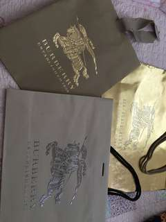 BURBERRY紙袋