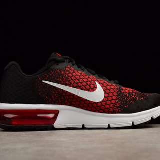 NIKE AIR MAX SEQUENT 2 - Red White