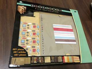 EK Success Bookworks Build An Album Kit for Scrapbooking