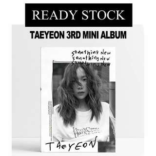 [READY STOCK] TAEYEON 'SOMETHING NEW' ALBUM