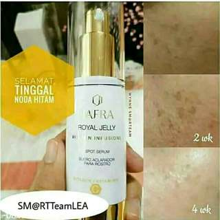 Jafra royal jelly infusion spot serum vit C