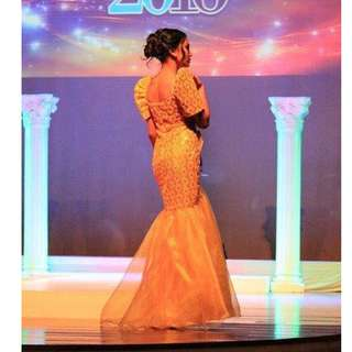 Modern Filipiniana Gown for RENT!