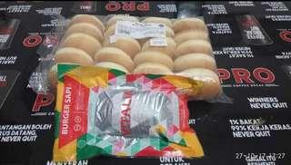 Paket burger mini