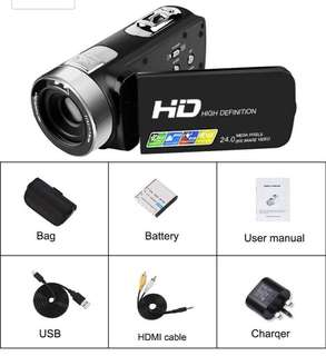 (85) Full HD video camcorder