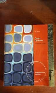 PL3240 Group Dynamics (6th ed)