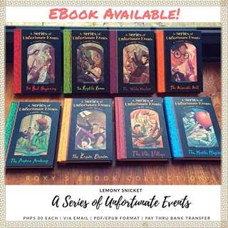 A series of unfortunate events (ebook)