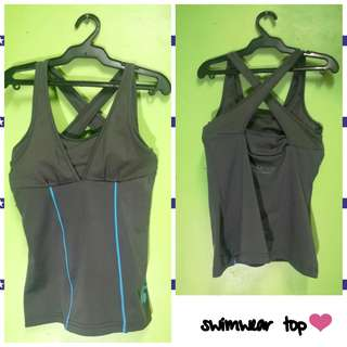 Swimsuit Top Padded+Stretchable