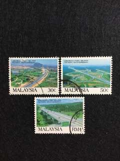 1994 The North-South Expressway/ Highway 3 Values Used Set