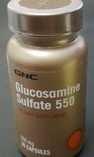 GNC glucosamine Sulfate 550 (30粒,30 Tablets)