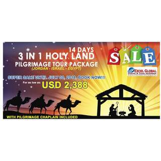 14 DAYS CHRISTMAS AND NEW YEAR  IN HOLYLAND INVITATION