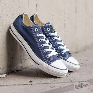 Pre loved Authentic 100% Converse All Star Navy Blue Shoes #mausupreme