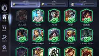 Vainglory SEA MY Acc for sale
