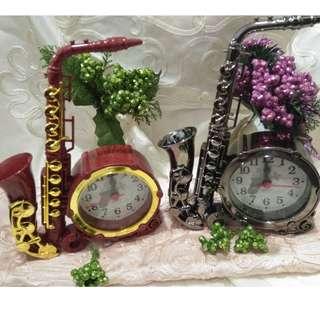 Saxophone Clock