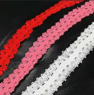 Instock: 1 Meter Stretchable Elastic Lace Trim