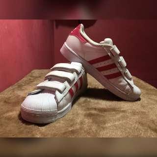 Authentic Adidas superstar kids