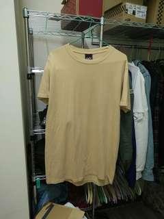 🚚 大地色 長版短袖 L號偏小一點