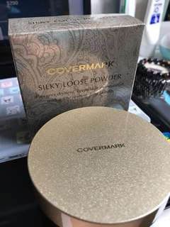 Covermark 持久珍珠蜜粉 silky loose powder