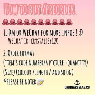 How to preorder / buy?😘