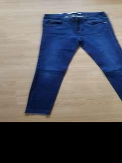 Zara skinny fit pants (size 4)