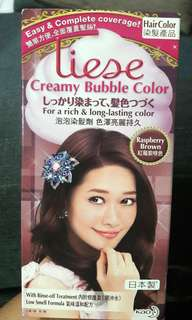 Liese Creamy Bubble Color Raspberry Brown