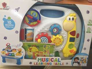 31• musical learning table for kids