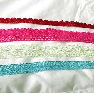 Instock: 1 Meter Cotton Lace Trim