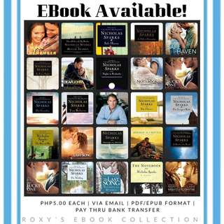 Nicholas Sparks collection (ebook)