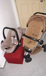 Stroller and carseat set