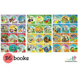 Songbirds Phonics Collection (36 e-books)