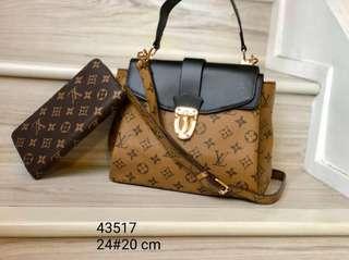 Lv handbag with purse