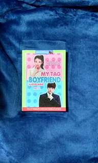 Wattpad book (my tag boyfriend)