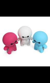 CUTE BAYMAX BLUETOOTH SPEAKER