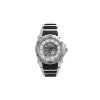 2CAN MECHANICAL WATCH for MEN - Silver & White