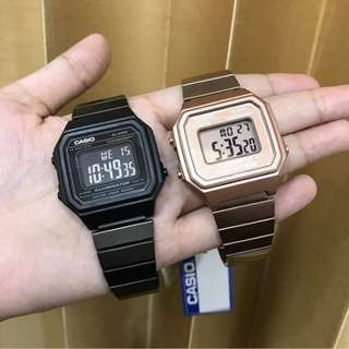 Casio B650 Rosegold/Black