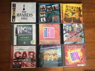 Late 90s to Early 2000s Pop CDs