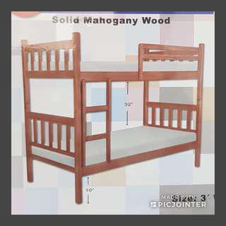 Solid wood Double Decker Bed