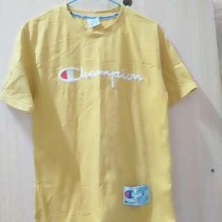 🚚 Champion黃色上衣