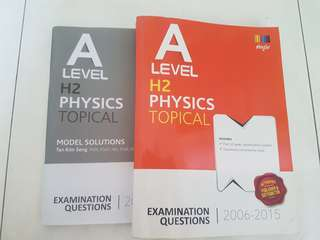 A Level H2 Physics TYS